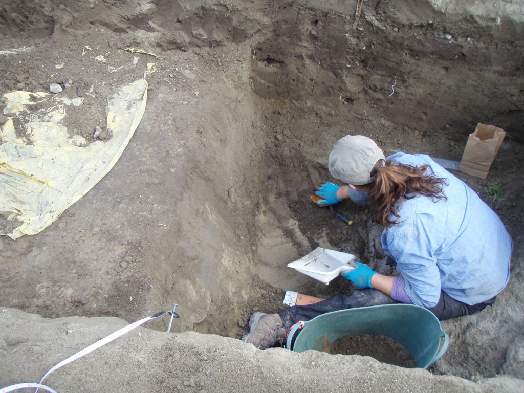 Excavation with Carla Penner